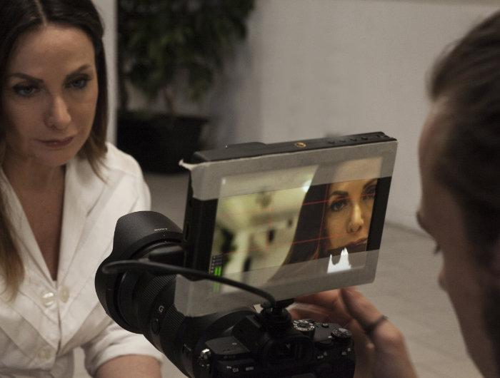 public speaking esercizio con telecamera